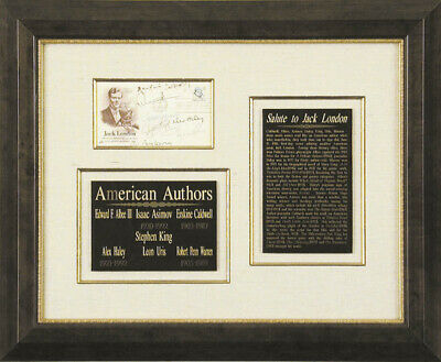 Erskine Caldwell - First Day Cover Signed With Co-Signers