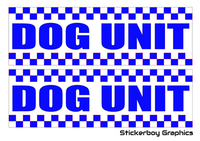 Dog Unit Magnet Battenberg Security K9 Handler UNIT Magnetic SIA Patrol