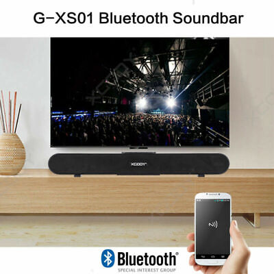 XGODY SoundBar TV Home Theater Wireless Bluetooth5.0 Speaker Sound bar Subwoofer