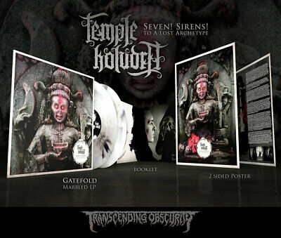 Temple Koludra - Seven! Sirens! To A Lost Archetype // 2xLP Vinyl limited to 150