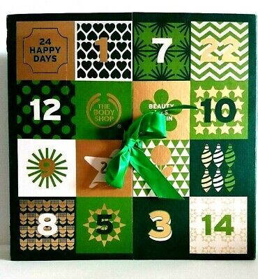 The Bodyshop 25 Days of Game Changing Adventure Beauty Advent Calendar