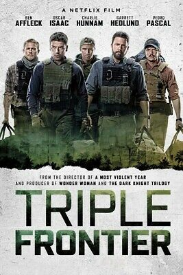 Triple Frontier (2019) (DVD) DISK ONLY.