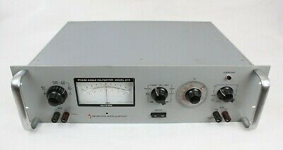 North Atlantic Phase Angle Voltmeter Model 213C, Tested hs