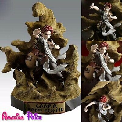 Japanese Naruto Shippuden GAARA SAND COFFIN Collectable Figure Jouet Toy RNR147