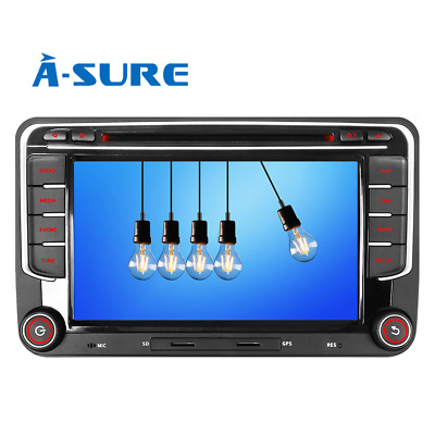 Autoradio DVD GPS NAVI DAB+ USB Bluetooth MP3 FM AM RDS UKW für VW Golf 5 6 Plus