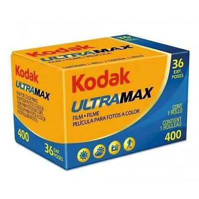 Kodak Ultramax Gold Ultra GC 35mm 36 Exp ISO 400 Color Negative Film