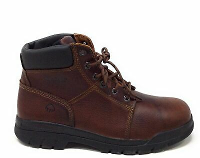 e007789bfe3 WOLVERINE MEN'S MARQUETTE Leather Anti-Slip Work Boots Black Size ...