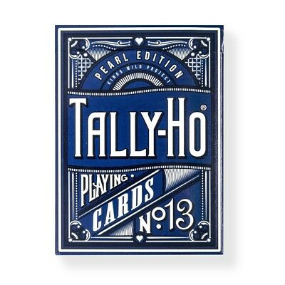Tally Ho Pearl Playing Cards Limited (Players Edition) Luxury Deck by Kings Wild