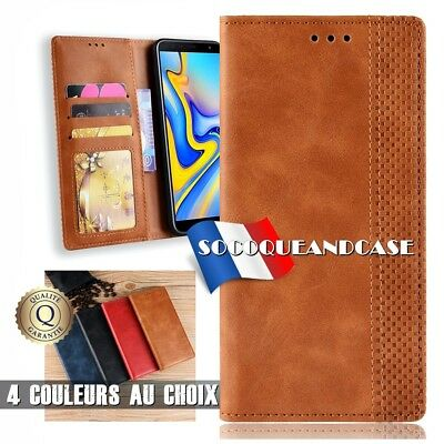 Case Cover Premium PU Leather Samsung Galaxy A30 A50 A60 Ankle Support Brace all