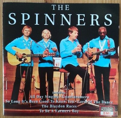 THE SPINNERS The One And Only CD ALBUM  EMI Music for Pleasure