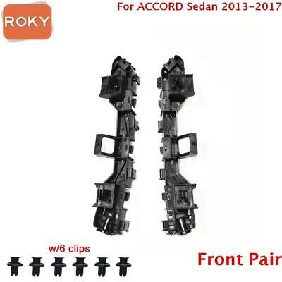 06-07 Accord Front Bumper Cover Spacer Retainer Brace Support Bracket Left Side