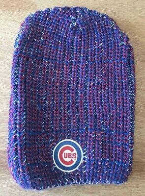 5f7a26dc754 New Chicago Cubs Jim Beam Whiskey Knit Hat Beanie 4 29 18 Promotional Item