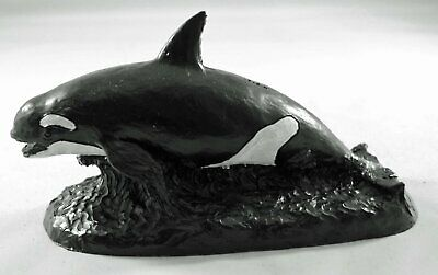 Orca Killer Whale Coal Model - Hand Crafted - 561