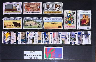 1973 US Commemorative Year Set (Complete) #1475-1508  MNH  FREE SHIPPING