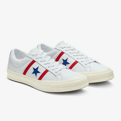 Mens Converse One Star Academy Ox Low Top Leather 163758C Sneakers Various Sizes