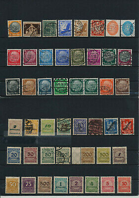 Germany, Deutsches Reich, Nazi, liquidation collection, stamps, Lot,used (HP 34)