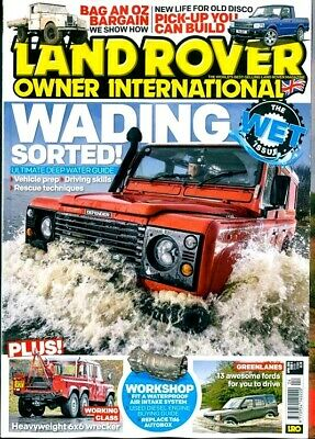 Land Rover Owner International Magazine Issue April 2019