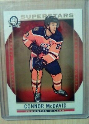 2018-19 OPC CANADIAN TIRE COAST TO COAST CONNOR McDAVID SUPERSTAR BASE CARD #101