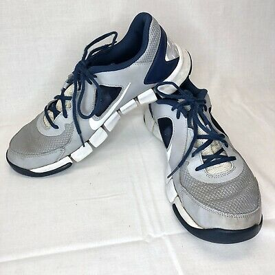 b97bf8da96ce Nike Flex Show TR 2 Training Mens 12 Blue Gray Athletic Shoes FREE SHIPPING!