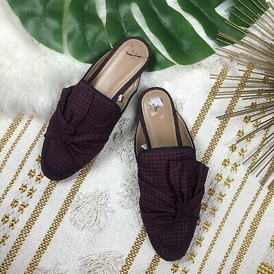 A New Day Women's Natalee Bow Backless Loafer Mules