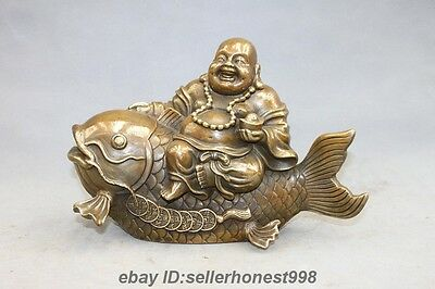 Figurines & Statues Shop For Cheap China Temple Purple Bronze 24k Gold Arhat Damo Bodhidharma Dharma Buddha Statue Colours Are Striking Asian Antiques
