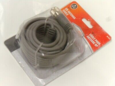 Roadpro Rp-8X18 18' Cb Radio Antenna Coax Cable W/Molded Pl-259 Connectors - Nos