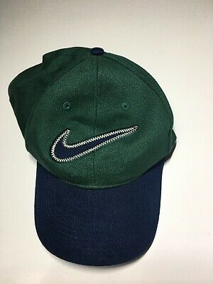db48feb4614 VINTAGE 90S NIKE AIR Strapback Hat Cap - Green and Black -  25.00 ...