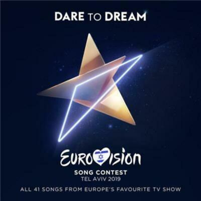 DARE TO DREAM EUROVISION SONG CONTEST Tel Aviv - Various Artists 2CD *NEW* 2019