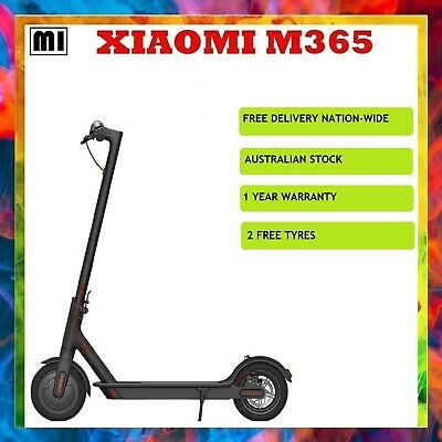 Xiaomi Mi Folding Electric Scooter M365  + 2 spare tyres (Australian Stock)