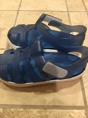 44c7f7f761ca NWT IGOR Boy s Tenis Jelly Sandals Shoes Toddler Kids Buckle Blue S10107-083
