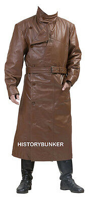 WW1 British RFC Royal Flying Corps leather coat- made to order