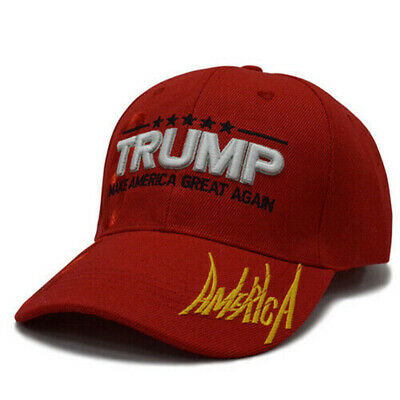 MAGA President Donald Trump 2020 Make America Great Again Hat RED cap