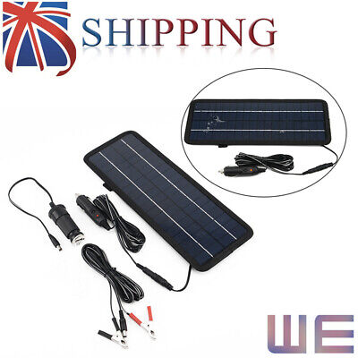 4.5W 12V USB Power Supply Car Yacht Solar Panel Trickle Battery Charger Outdoor