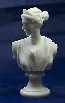 Artemis Diana sculpture bust Greek Goddess of the Hunt, Forests and Hills