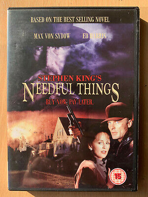 Needful Things DVD Formato Panorámico 1993 Stephen King Culto Fantasía Horror