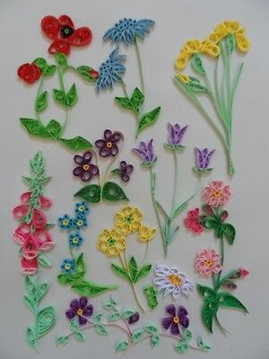 Quilling Kit - Wild Flowers