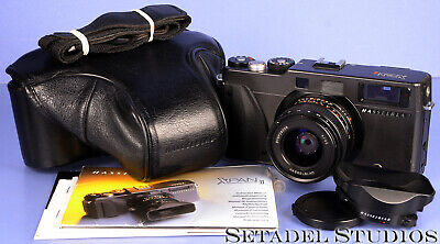 Hasselblad Xpan Ii Panoramic Camera Outfit +45Mm F4 Lens +Shade +Cap +Case