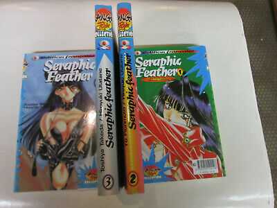lot mangas.  seraphic feather .. ..4 volumes ..1 au 4