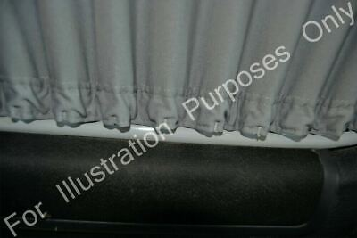 Universal Black Out Curtain Set 52cm High Curtains Camper Van