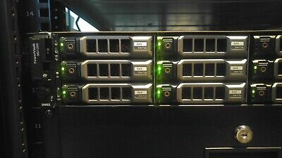 Dell PowerVault MD1200 Storage Array w/ 9x 3TB 7.2K SAS HDD