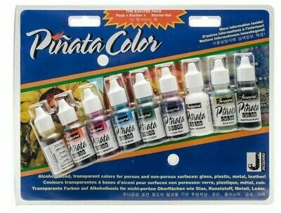 Pinata by Jacquard - Alcohol Ink Exciter Pack - 9 x 0.5 oz colours - UK SELLER!