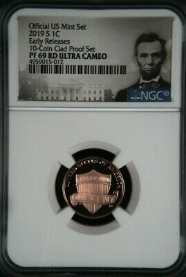 2019 S Proof Lincoln Shield 1c NGC PF 69 RED Ultra Cameo Early Releases