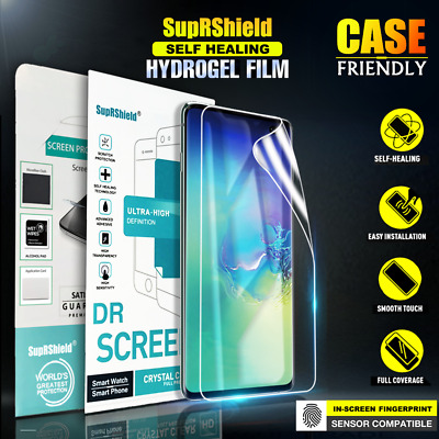 SupRShield SAMSUNG GALAXY S10 Plus S10e HYDROGEL Full Coverage Screen Protector