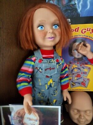 Seltene Version Inkl Chucky Fig Verpackung.puppet New Fashion Chucky Puppe Von Mezco Toys