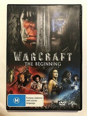 The Warcraft Beginning (DVD, 2016) Movie 🍿 Rated M Action Region 4 Sci-Fi