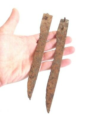 Well Preserved Late ROMAN PERIOD > Ancient Roman Household Iron Knife - 2pcs