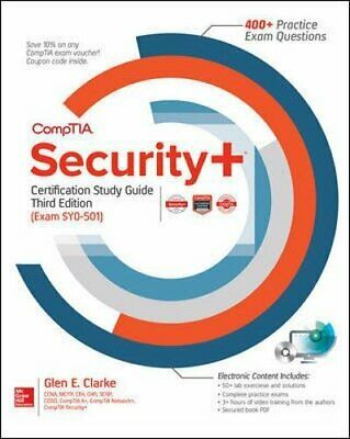 NEW - CompTIA Security+ Certification Study Guide, Third Edition (Exam SY0-501)