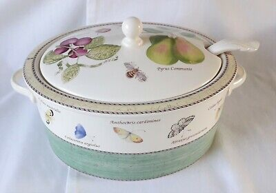 Wedgwood Sarah's Garden Soup Tureen and Ladle Boxed