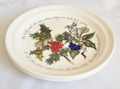 NEW Portmeirion The Holly and The Ivy Dinner Plates x 2 - LAST SET