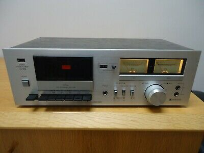 sansui d 90, cassette player ,working with new belts